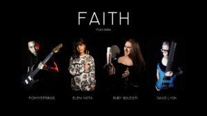 Ruby Bouzioti and Eleni Nota feature in pickmystring's single 'Faith'